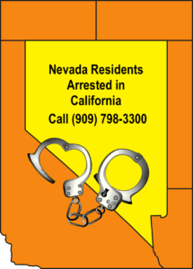 Nevada residents arrested in California